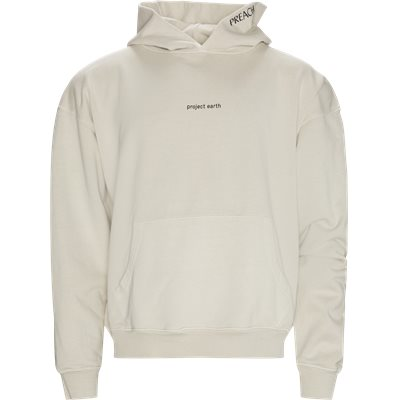 Oversized project earth hoodie Oversize fit   Oversized project earth hoodie   Hvid